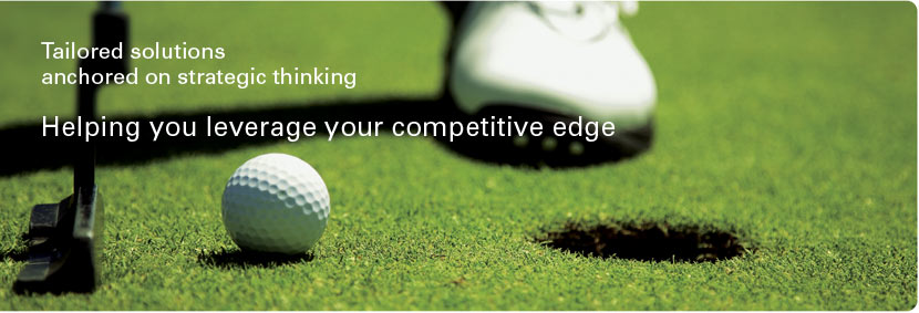 Helping you leverage your competitive edge